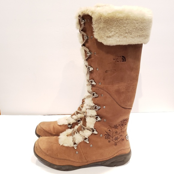 1f429dc41 The North Face tall snow boots size 8